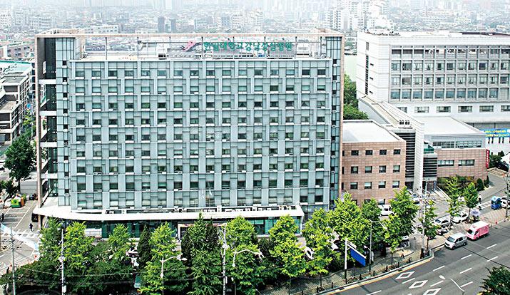 강남성심병원 병원전경사진